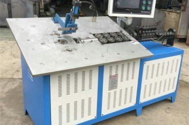 forró eladás automatikus 3d acél huzal kialakítása gép cnc, 2d huzal hajlító gép ára