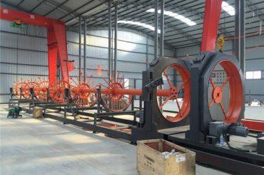 cnc acél ketrechegesztő gép acélhenger tekercselés hegesztő használatra építéshez