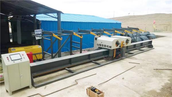 Forró értékesítés Vertikális sín Double Benderrebar sínes centerautomatikus sínhajlító gép