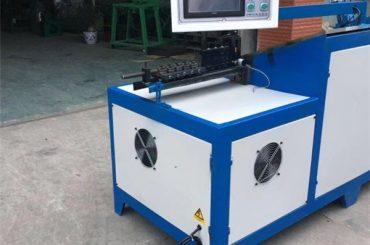6 mm-es acél drót vállfa hajlító gép univerzális rozsdamentes acél kosár cnc huzal hajlító